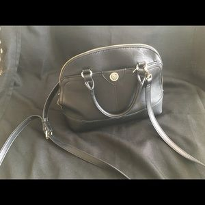 Black Anne Klein purse